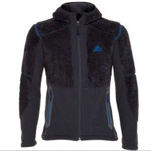 K-Way Full Zip Heavyweight Navy Fleece Jacket